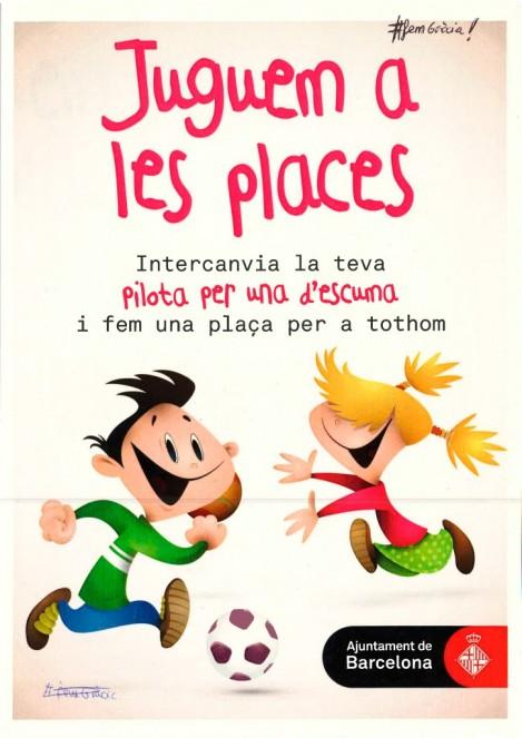 Juguem a les places Gràcia