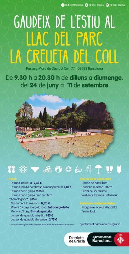 Llac-Creueta-del-Coll Planes con niños en Barcelona