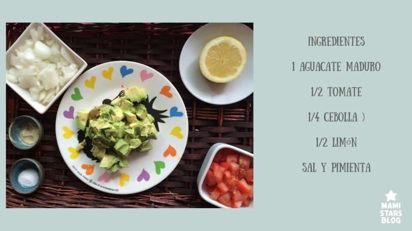Receta fácil guacamole casero