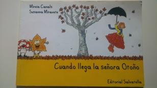 Cuando llega la señora Otoño / libro infantil