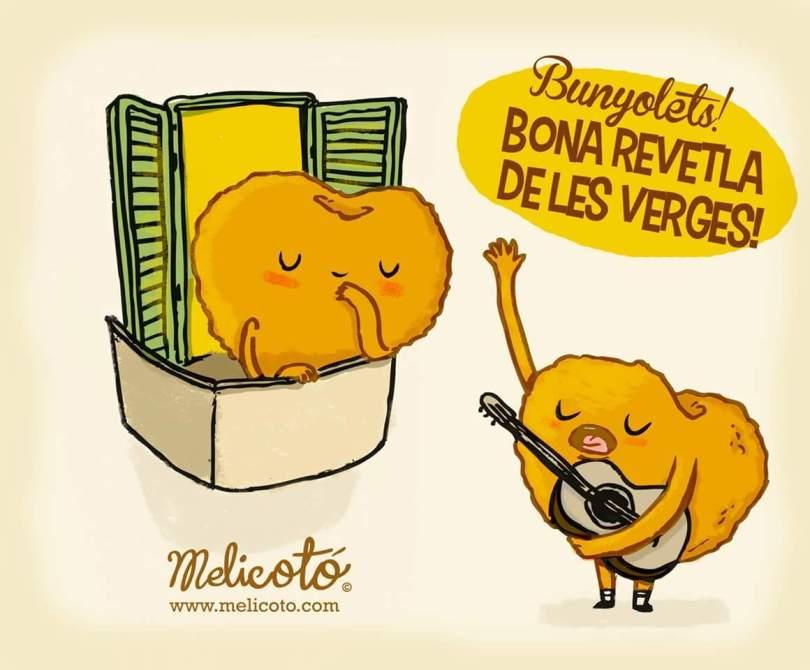 melicoto revetlla verges buñuelos