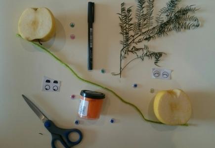 DIY Calabazas con manzanas