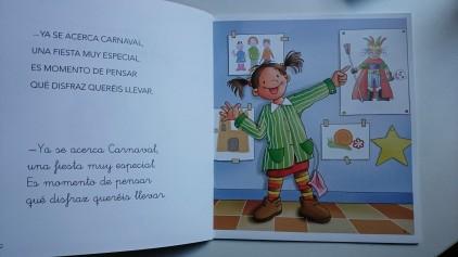 ¡Celebramos Carnaval! libro infantil