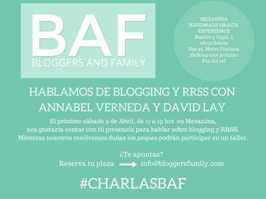 #Charlas BAF