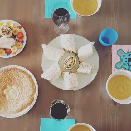 Nuestra comida Mision Wraps