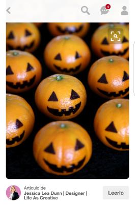 Mandarinas calabazas Diy Halloween / Manualidades halloween niños Vasos fantasmas, arañas y cartel frankeisten