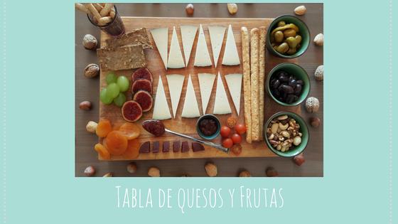 Recetas / Tabla de quesos y frufas fácil