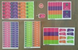 Stikets etiquetas y pegatinas personalizadas