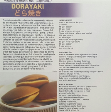 Receta Dorayaki del Salón del Manga