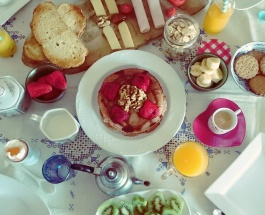 Desayuno cumpleañero