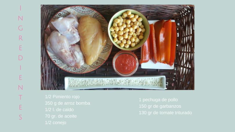 Paella de conejo / Receta fácil /Receta familiar