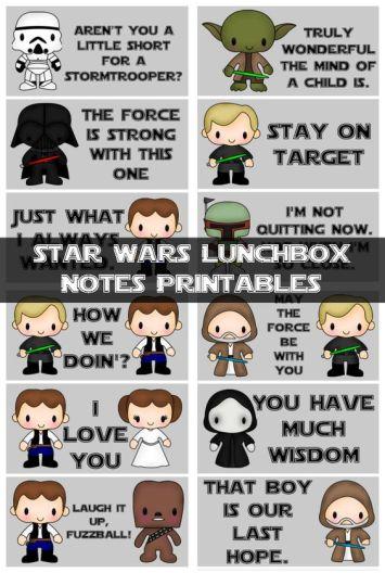Imprimible Star wars