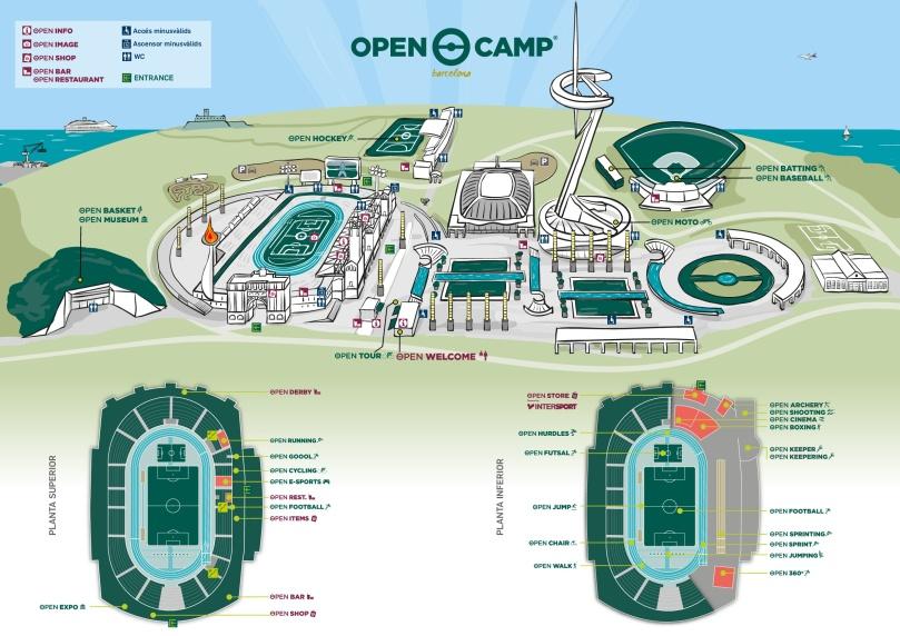 Plano Open Camp