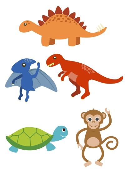 descargable animales para marionetas