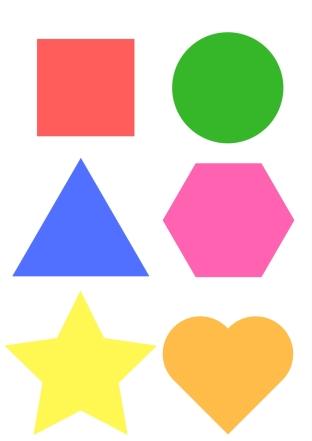 descargable formas y colores