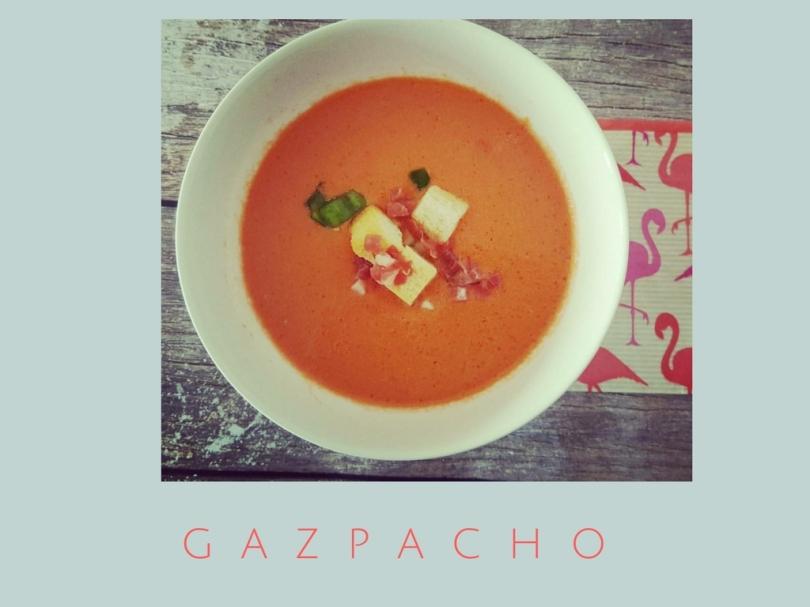 Gazpacho receta fácil