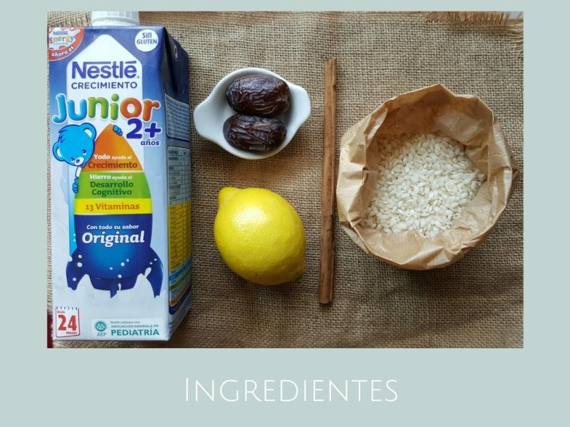 Receta Arroz con leche / Receta para niños