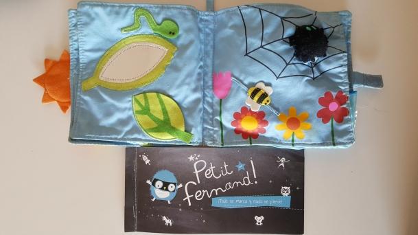 Petit Fernand Etiquetas personalizadas para la ropa y objetos de niños