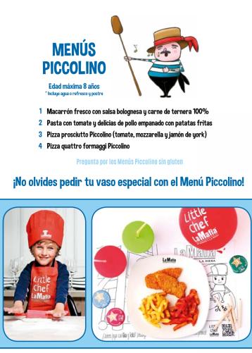 La mafia restaurantes / La mafia kidsfriendly