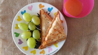 an con queso en sanwichera _Receta fácil_ Cocinar con niños(1)