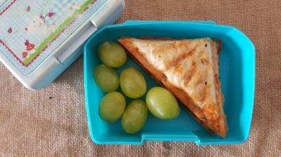 an con queso en sanwichera _Receta fácil_ Cocinar con niños