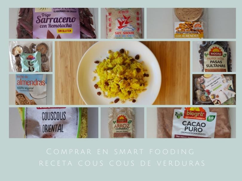 Comprar en smart fooding receta cous cous de verduras