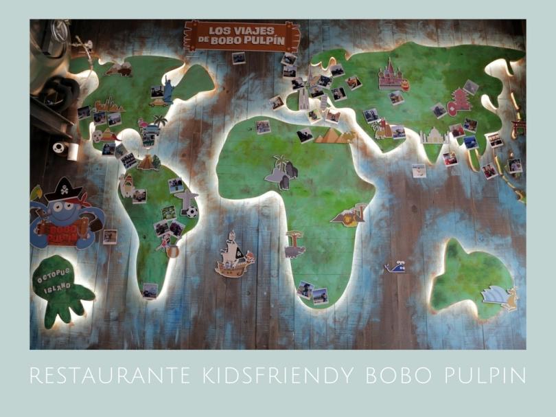 restaurante kidsfriendy bobo pulpin en Barcelona