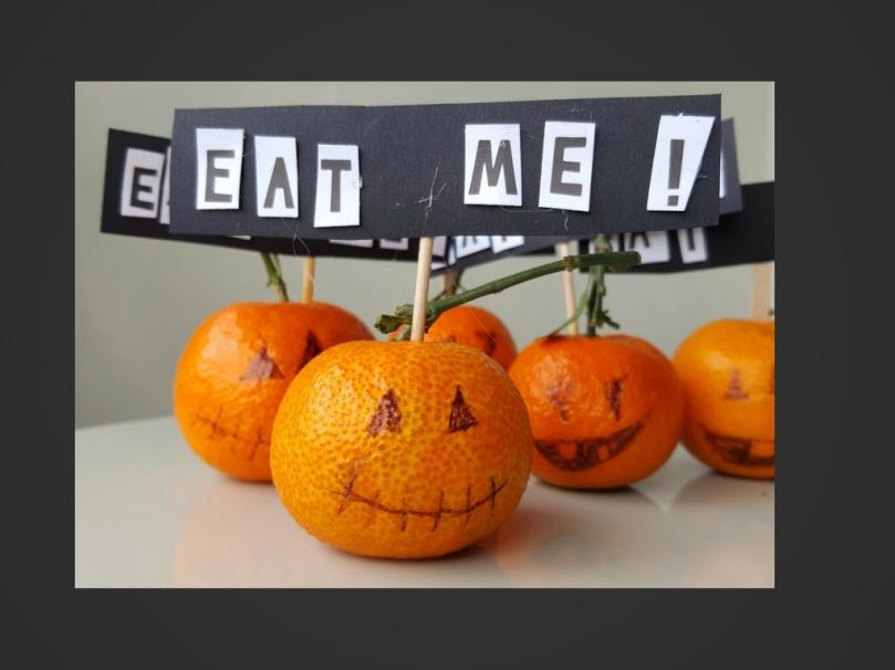 Comecocos halloween DIY fácil para niños