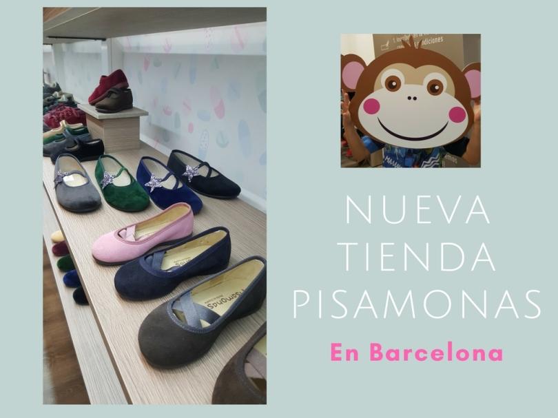Nueva tienda Pisamonas en Barcelona