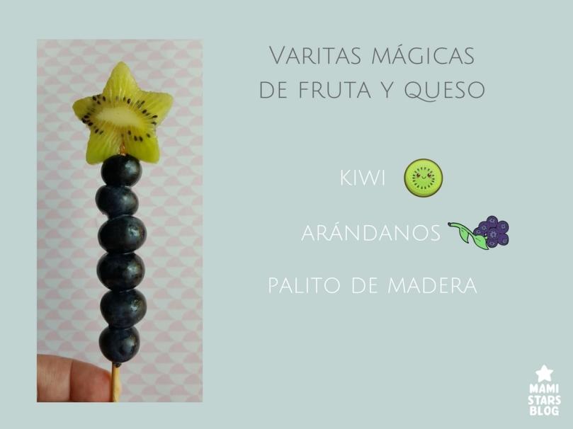 Varitas mágicas de fruta / Receta fácil y divertida para niños