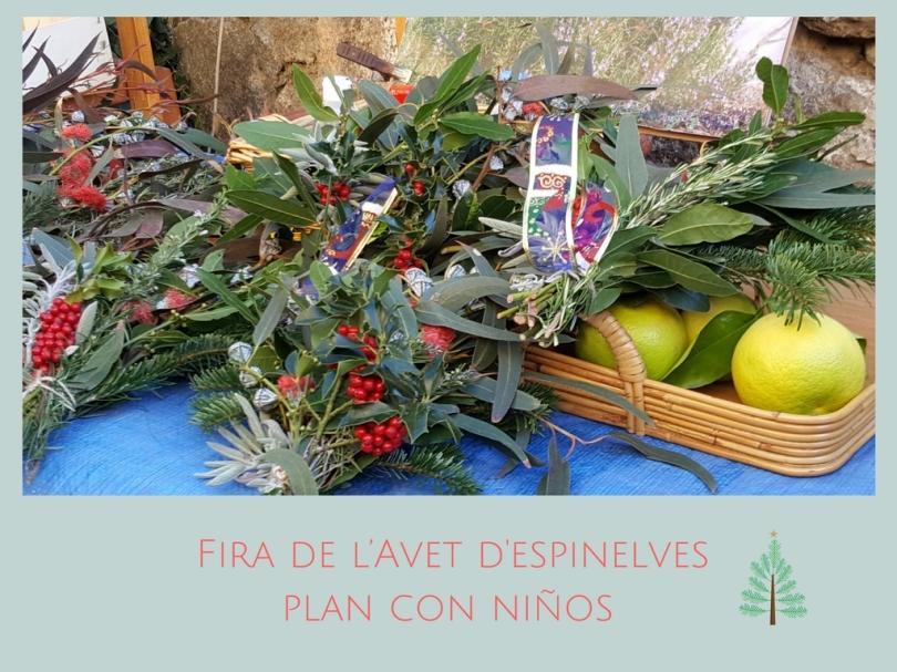 Fira de l'Avet Espinelves / Plan con niños en Navidad