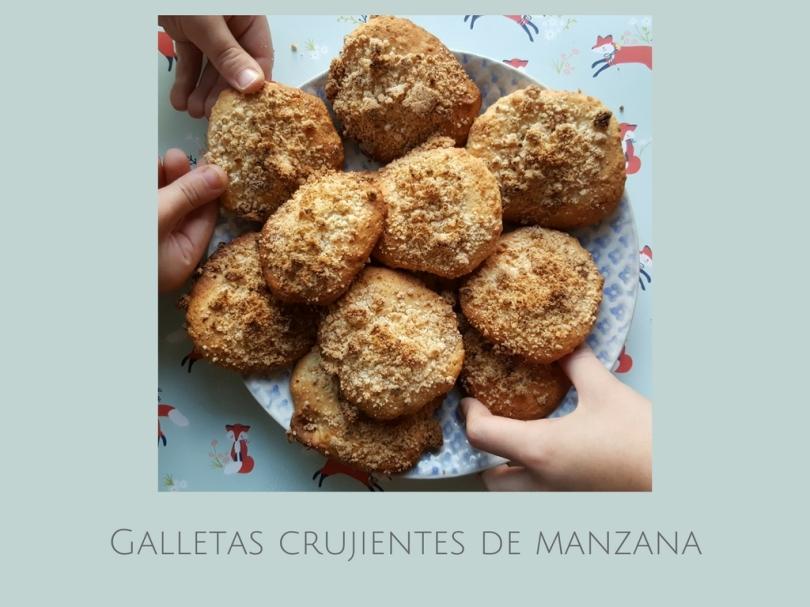 Galletas Crujientes De Manzana Receta Fácil Para Niños Mamistarsblog