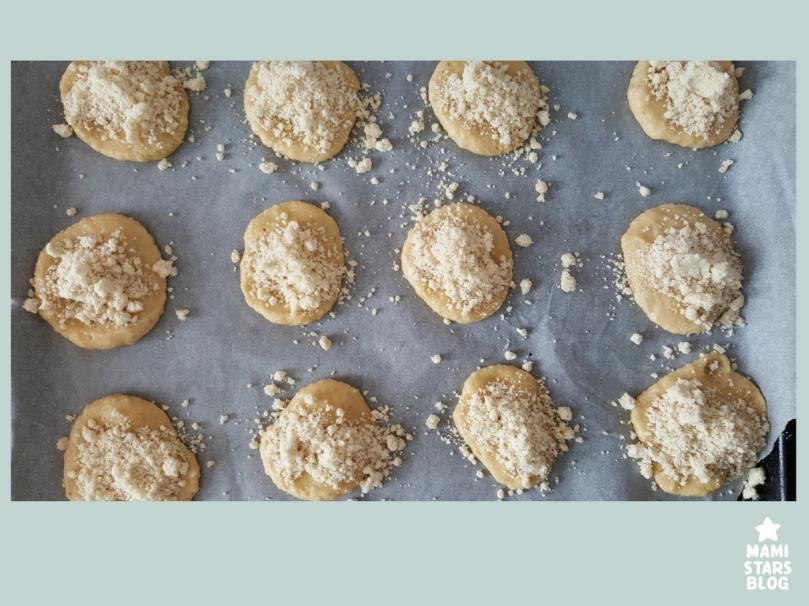 Receta de galletas faciles para niños / Galletas cujientes de manzana