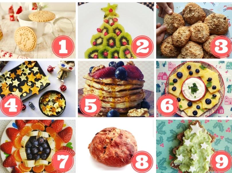 Recetas fáciles para cocinar con niños en Navidad