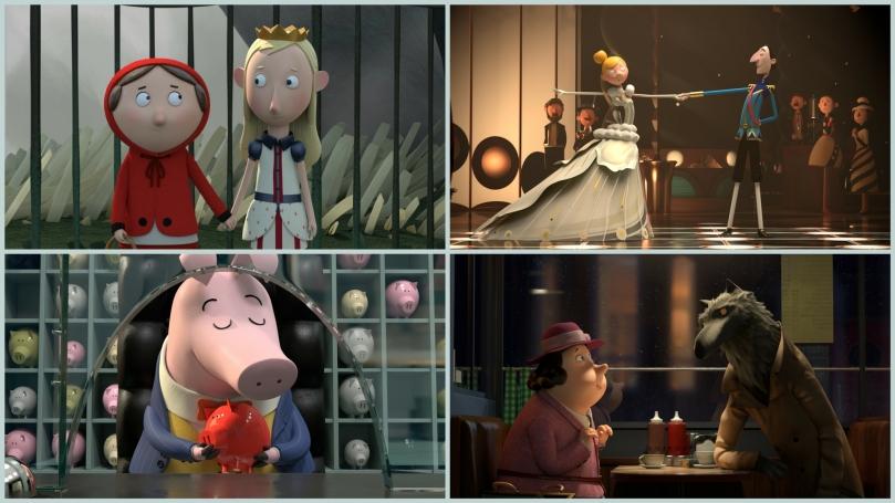 La rebelión de los cuentos / Película infantil