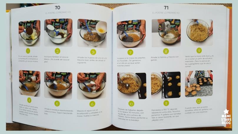 El postre lo preparo yo / libro infantil de recetas