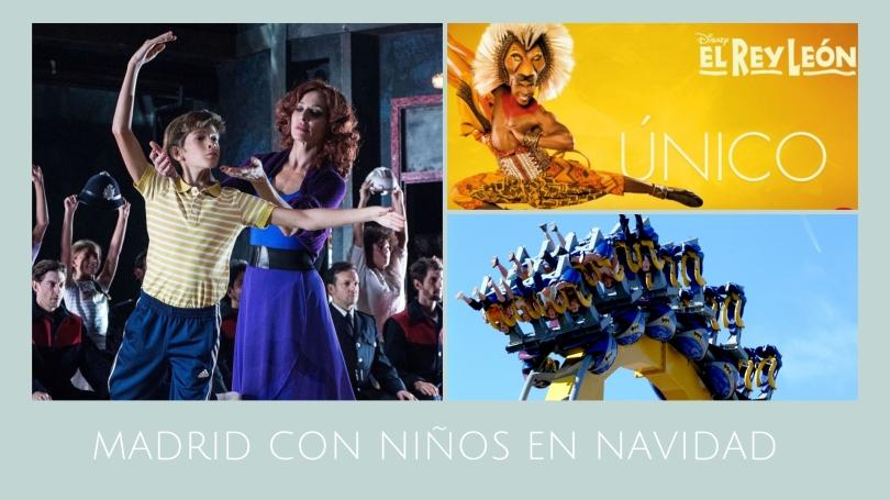 MADRID CON NIÑOS EN NAVIDAD