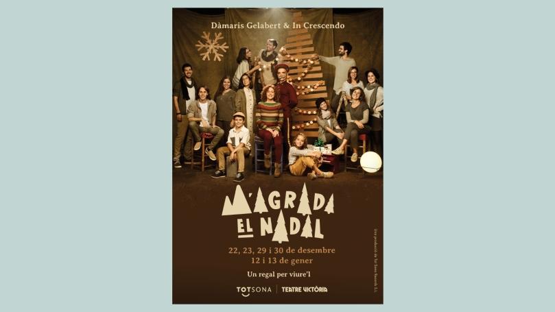 m'agrada el nadal Espectáculo familiar en Barcelona