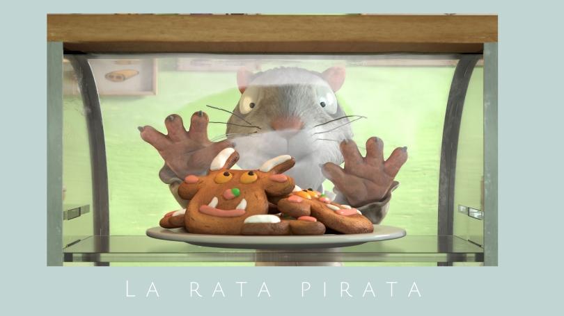 La rata pirata Película infantil
