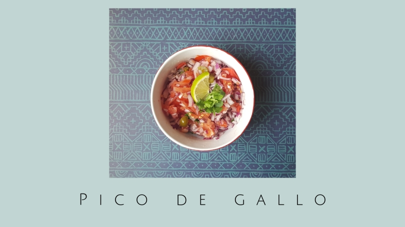 Pico de gallo / Receta mexicana